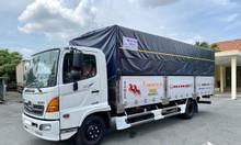Hino FC thùng bạt, tải 6T5, thùng dài 5m7, 6m7 và 7m2