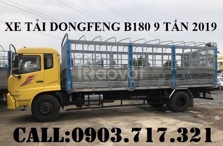 Bán xe tải DongFeng 9 tấn thùng dài 7m5 Model 2019 Euro 5