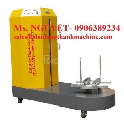Máy quấn màng kiện hành lý, thùng carton tự động WP-56