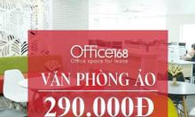 Cho thuê văn phòng ảo, văn phòng đại diện tại HCM chỉ từ 290.000/tháng