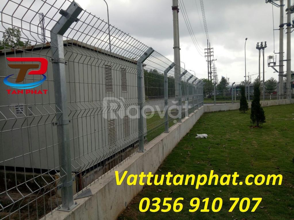 Hàng rào lưới thép hàn, hàng rào bảo vệ, hàng rào ngăn kho giá tốt