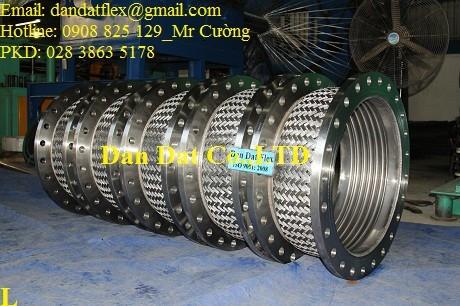 Chuyên cung cấp ống nối mềm PCCC, ống mềm inox chịu nhiệt cao, dây mềm