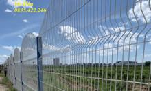 Hàng rào lưới thép D4 a50x200 sản xuất theo yêu cầu
