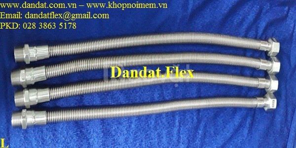 Ống mềm dẫn nước nóng lạnh inox và ống mềm cho đầu phun chữa cháy