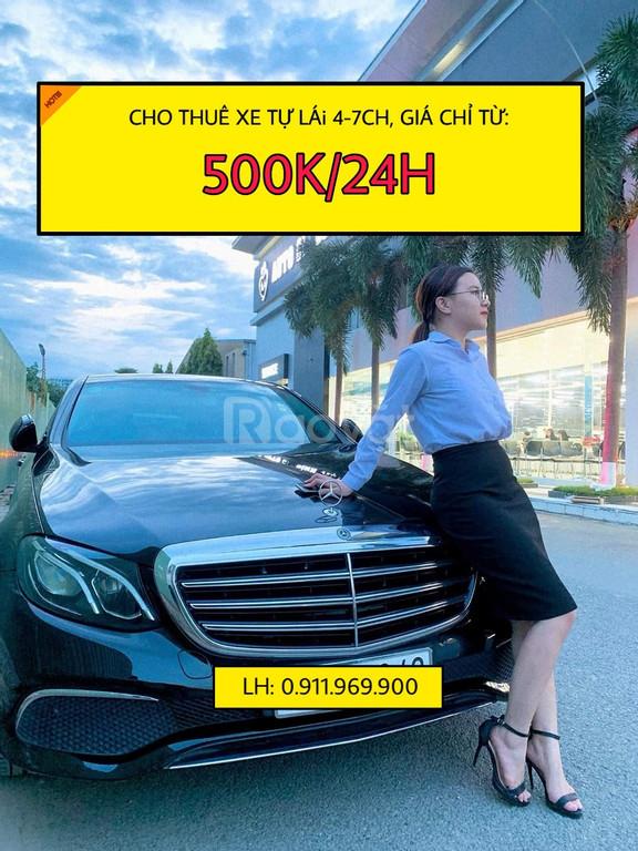 Thuê xe tự lái với giá chỉ từ 450k/24h
