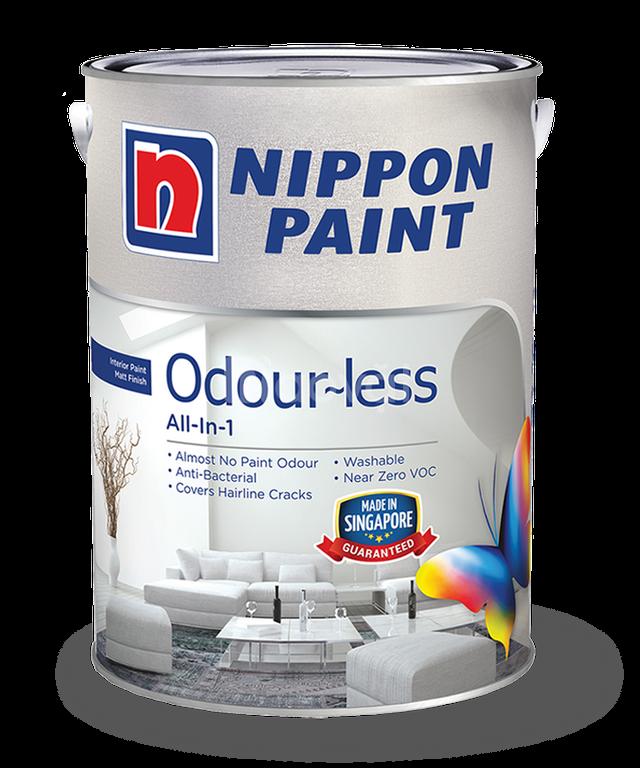 Cần cung cấp sơn nội thất Nippon Odour-Less All-In-1 thùng 18L giá rẻ