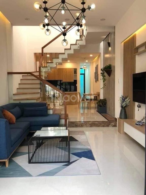 Nhà mới ở ngay, Bùi Đình Túy P12, Bình Thạnh, DT 4,2×14,5 giá 6.8 tỷ