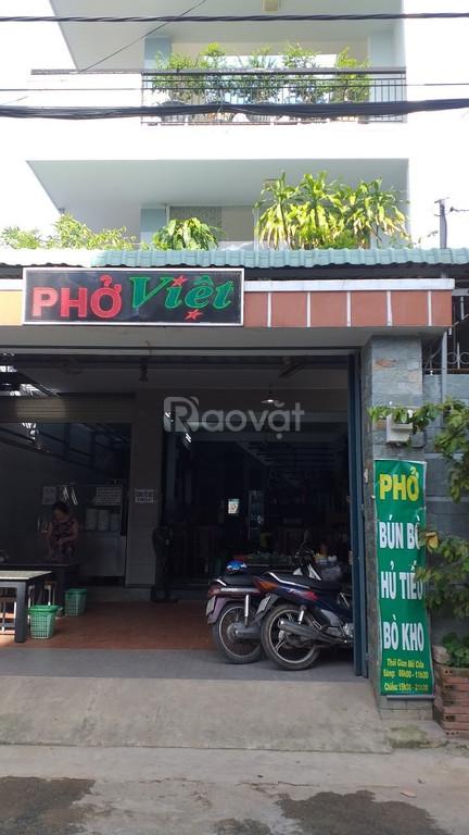 Bán nhà 3 tấm quán ăn Phở Việt quận 12 kẹt tiền bán giá rẻ