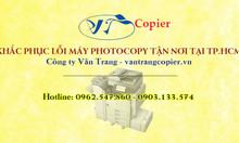 Khắc phục lỗi máy photocopy tận nơi tại TP.HCM
