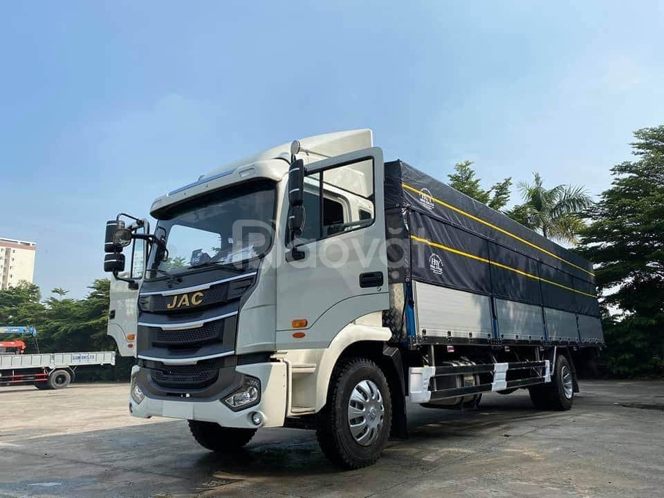 Đại lý xe tải jac A5 8 tấn thùng dài 9.5 mét chở hàng nhẹ,bao bì giấy