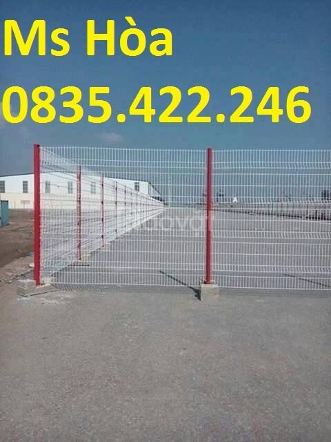 Sản xuất lưới thép hàng rào mạ kẽm, lưới hàng rào sơn tĩnh điện