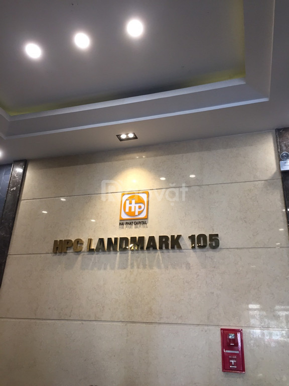 Bán căn góc HPC Landmark 105 đường Tố Hữu, 117m2-3PN, view công viên