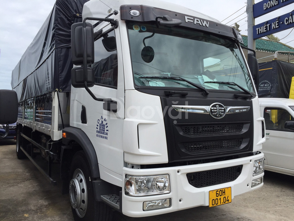 Giá bán xe tải faw 8 tấn thùng dài 8m | xe tải thùng kín chở nệm palet
