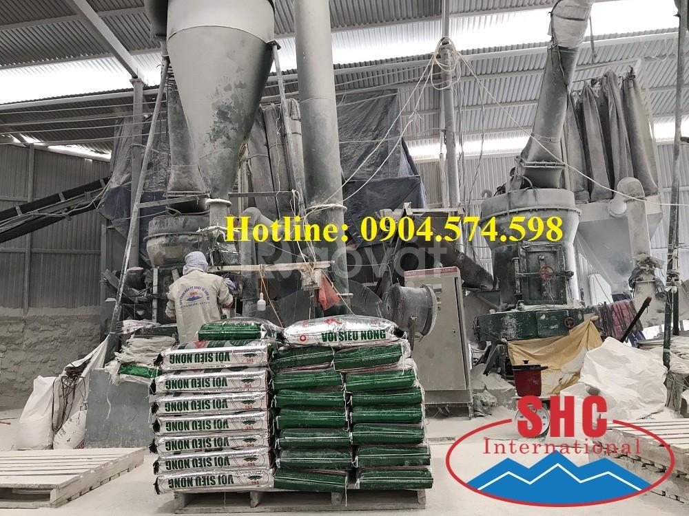 Nhà máy sản xuất vôi nung CaO chất lượng cao