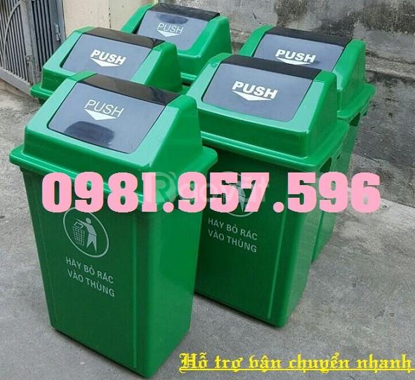 Thùng rác văn phòng, thùng rác dân sinh, thùng rác 60L