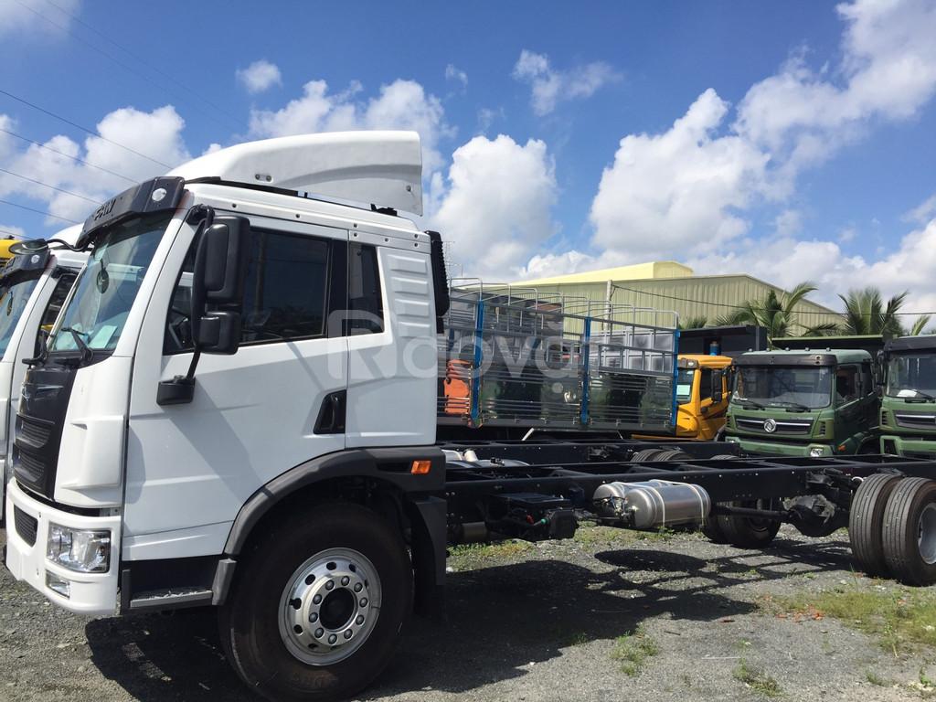 Xe tải faw 8 tấn thùng dài 8 mét, xe tải 8 tấn giá rẻ KM 15 triệu.