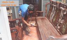 Sửa chữa đồ gỗ tại nhà, phun sơn đồ gỗ nội thất giá rẻ tại Hà Nội