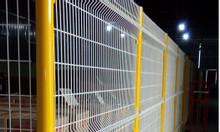Hàng rào lưới thép, hàng rào ngăn kho, hàng rào đẹp dây 5ly,6ly