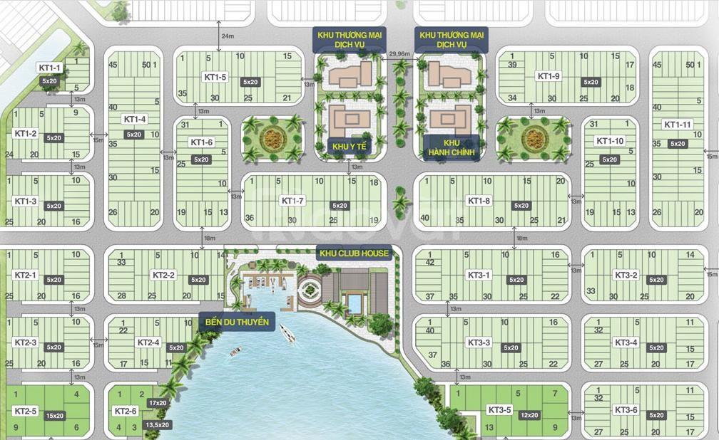 Bán suất nền nội bộ Biên Hòa New City KT01-07-0x, 2,127 tỷ