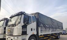 Đại lý xe tải faw thùng dài chở hàng nhẹ,bao bì giấy mút xốp