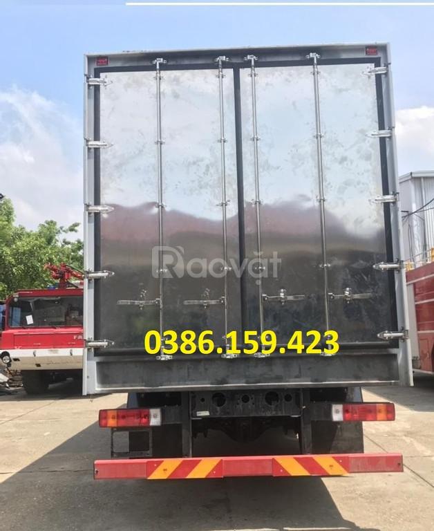 Xe tải 8 tấn giá rẻ, xe tải faw 8 tấn thùng dài 8 mét, KM 50% phí TB.