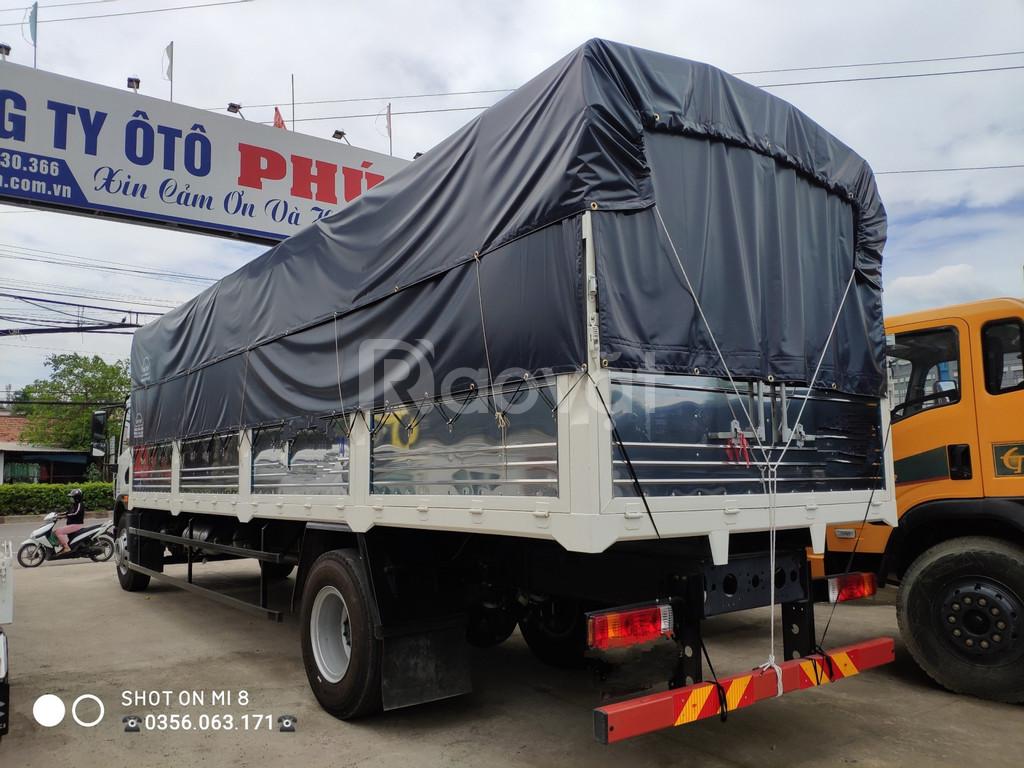 Xe faw 8.4 tấn thùng dài 8 mét bán trả góp trả trước chỉ 290tr lấy xe