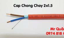 Cáp tín hiệu chống cháy chống nhiễu – FR 2x2.5 AL+E