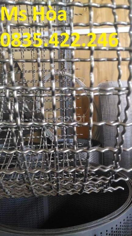 Lưới inox 304, inox 201, lưới sàng lọc, lưới chống côn trùng