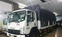 isuzu 6.5T thùng Bạt 6.8m, KM máy lạnh, 50% thuế trc bạ...