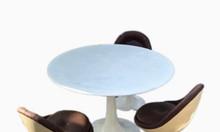 Bộ bàn ghế ăn bằng nhựa Composite