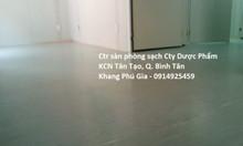 Cung cấp sàn vinyl phòng sạch giá tốt