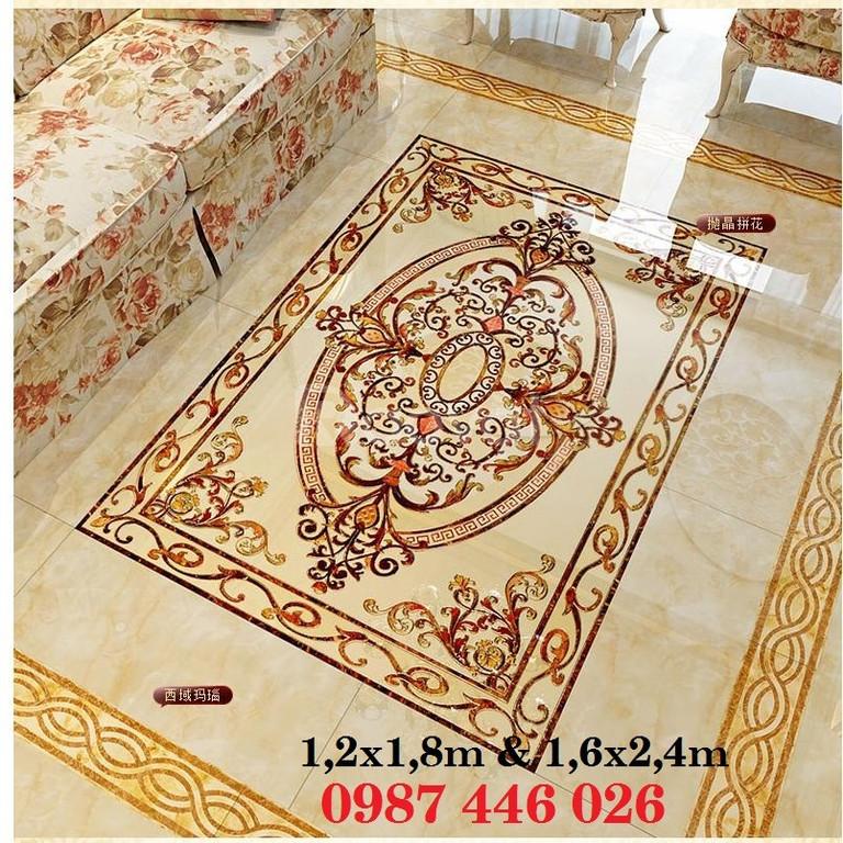 Gạch thảm, gạch phòng khách trang tri