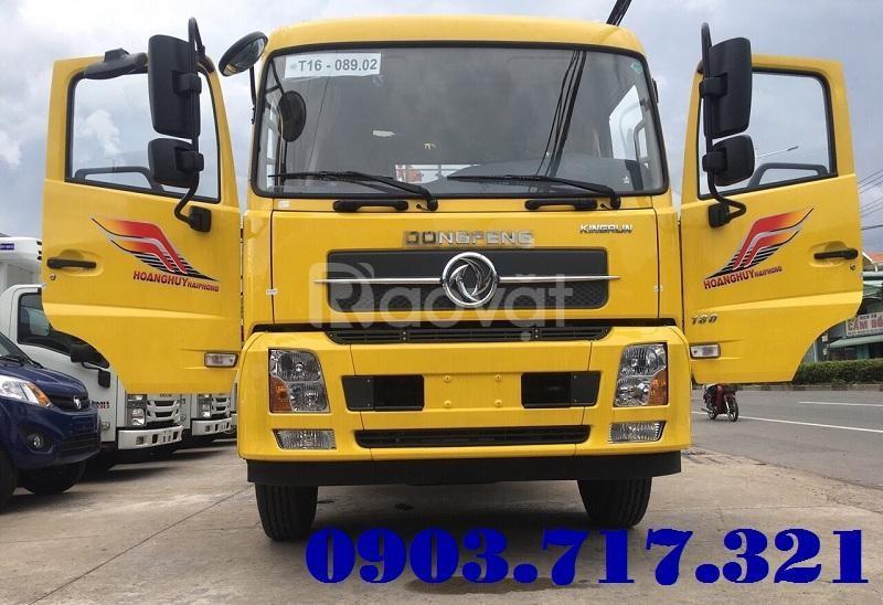 Hãng xe tải Dongfeng Hoàng Huy 9 tấn thùng 7m5 mới 2019