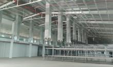 Cho thuê nhà xưởng mới 5.658m2 gần mặt tiền đường lớn cách QL 1A 180m