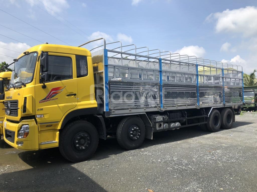 Xe tải Dongfeng 4 Chân 18T|Dongfeng Hoàng Huy 4 Chân 2020