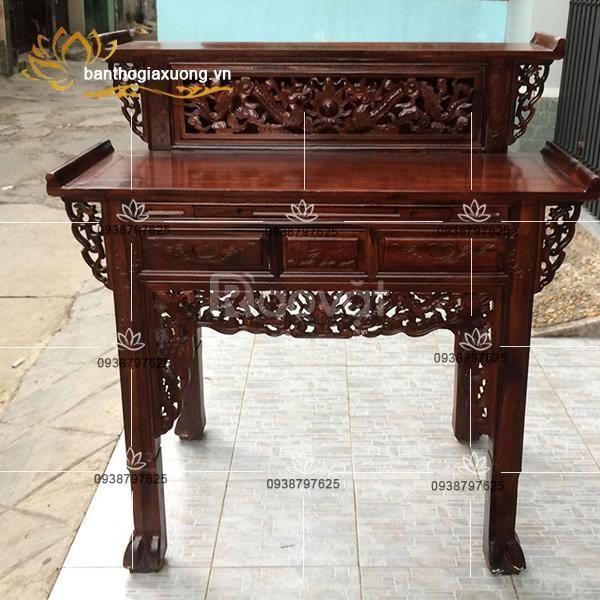 Hơn 30 mẫu bàn thờ gia tiên gỗ đẹp và cách bài trí phong thủy