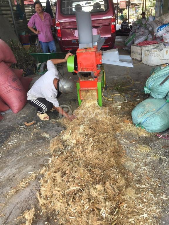 Thanh lý máy băm xơ dừa, băm mùn cành cây giá rẻ