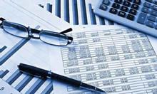 Nhận làm báo cáo Thuế, báo cáo tài chính năm, HT sổ sách kế toán