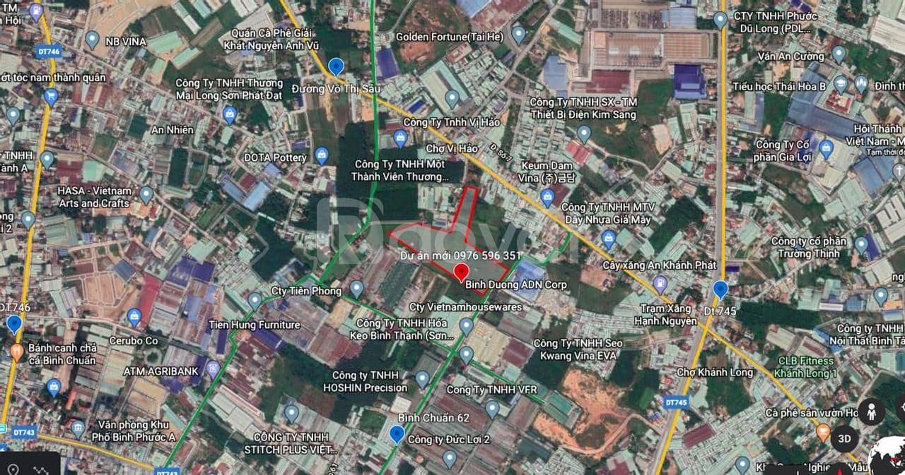 Khu nhà ở Minh An Bình Chuẩn 62 Thuận An