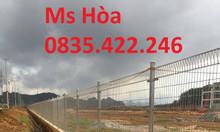 Lưới hàng rào, hàng rào cột trái đào, hàng rào bảo vệ khu công nghiệp