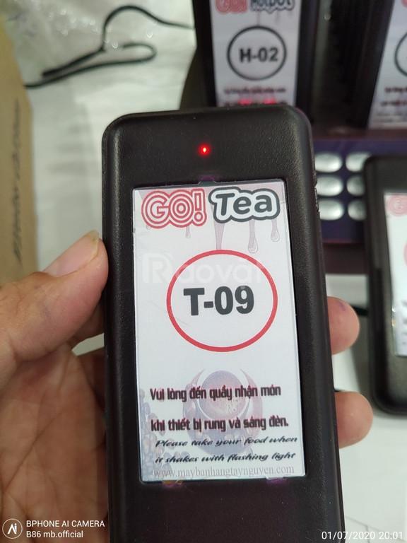 Cung cấp thiết bị gọi phục vụ không dây cho cửa hàng take away Cần Thơ