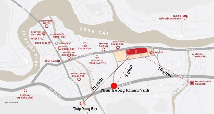 Bán 300m2 đất sổ đỏ gần TP Nha Trang giá chỉ 4 triệu/m2