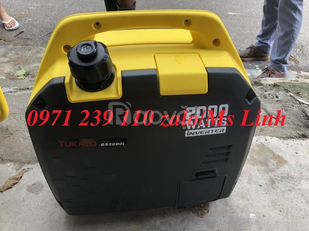 Máy phát điện chống ồn 2kw Yukato BS2000 Nhật Bản chính hãng