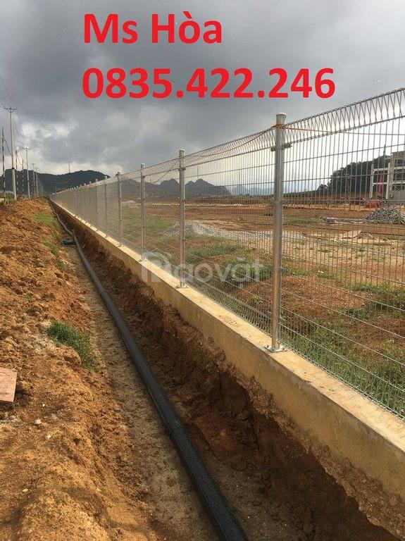 Hàng rào lưới thép hàn mạ kẽm, hàng rào lưới thép hàn