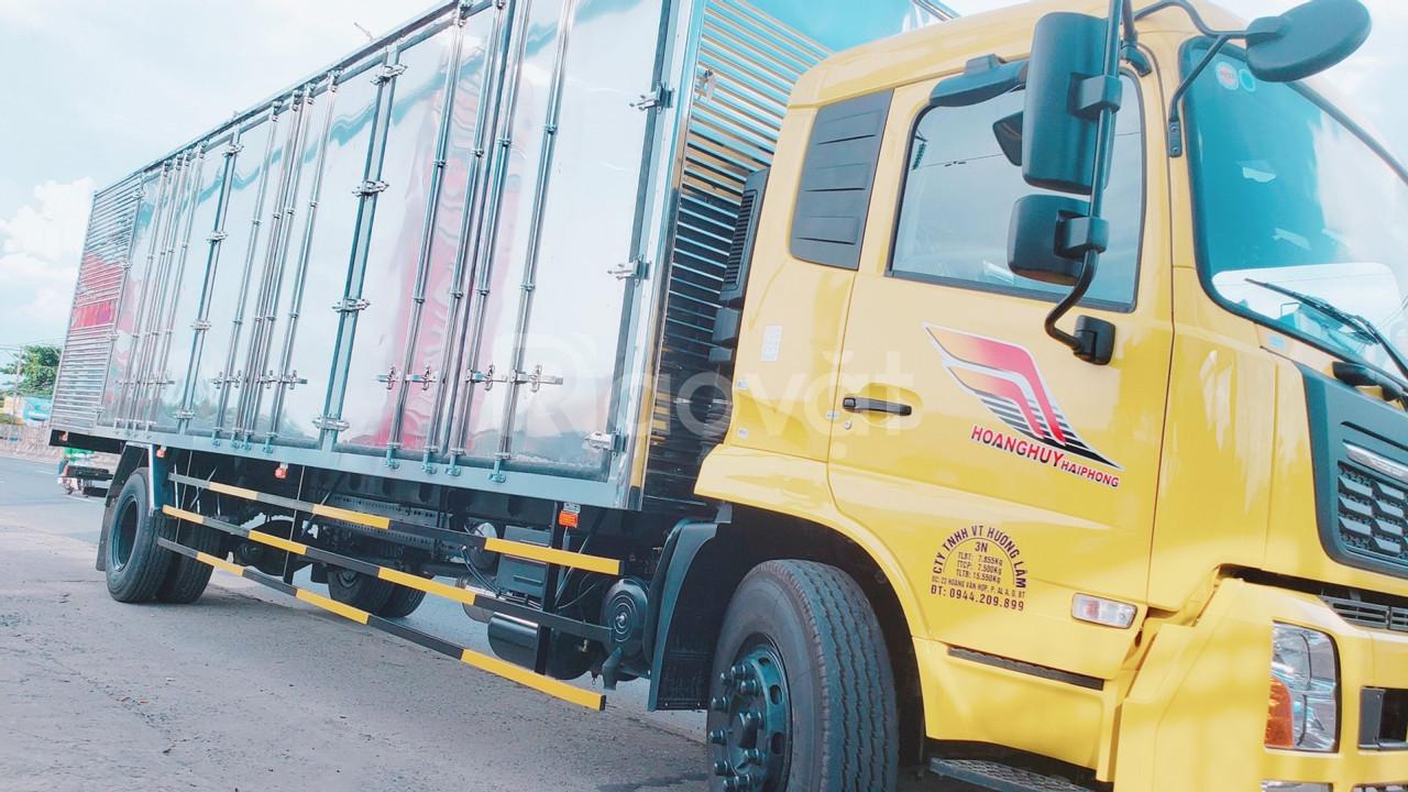 Xe tải chuyên chở hàng Pallet, Linh kiện điện tử   Dongfeng B180