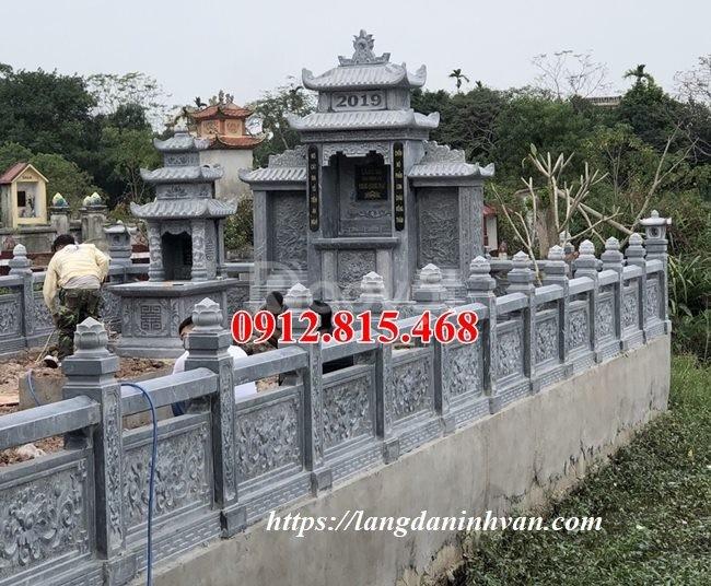 Xây lăng mộ gia đình bằng đá đẹp tại Hà Nội, Lăng mộ đá Ninh Bình