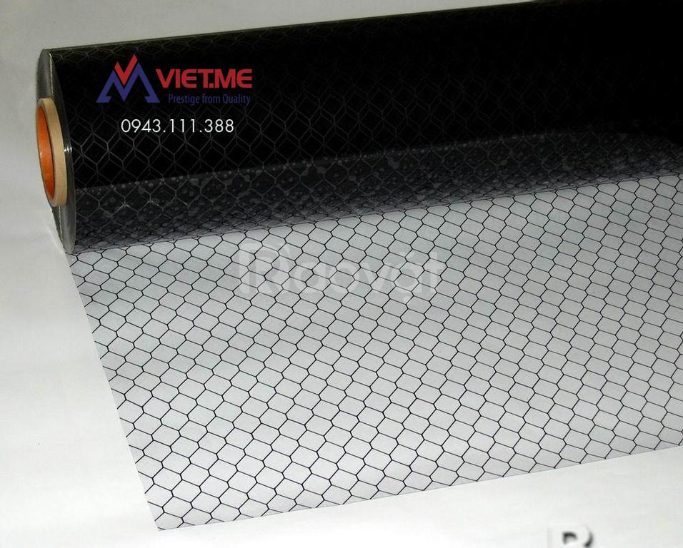 Màng nhựa PVC lưới ô mắt cáo, PVC ESD Grid, PVC chống tĩnh điện