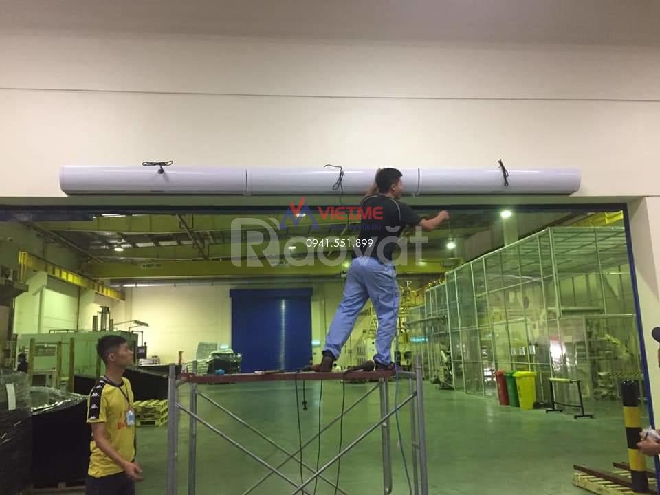 Cung cấp, lắp đặt quạt cắt gió, chắn gió tại Bắc Ninh và tỉnh lân cận