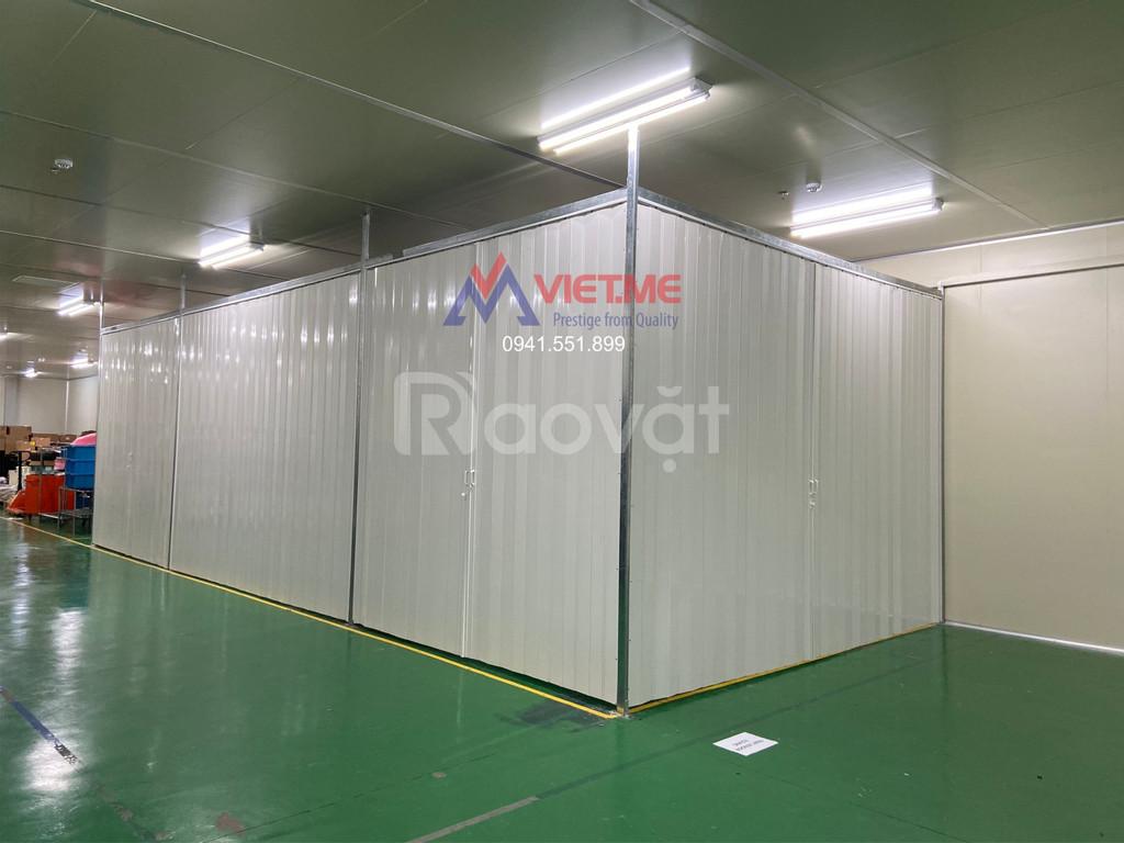 Lắp đặt cửa xếp nhựa, vách xếp nhựa giá tốt Bắc Ninh và lân cận