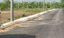 Đất nền quốc lộ 50 giáp tp.HCM, chính chủ, giá rẻ, sổ hồng riêng.